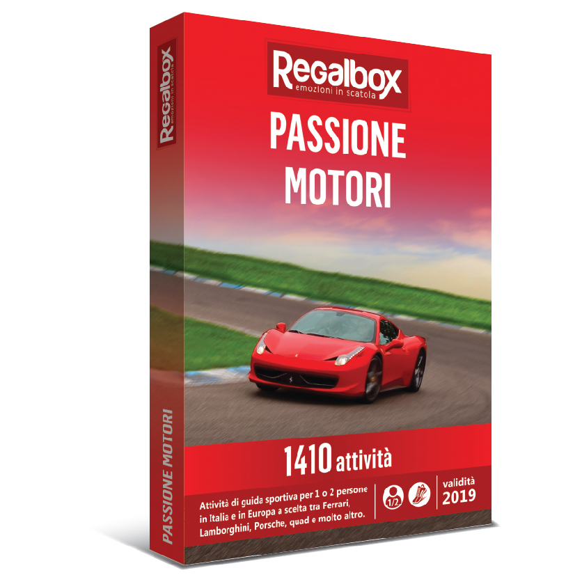 Passione motori - Regalbox - Trinacria Tour Consulting Filiale ...